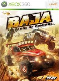 Box cover for BAJA: Edge of Control on the Microsoft Xbox 360.