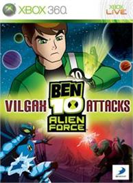 Box cover for BEN 10: VILGAX ATTACKS on the Microsoft Xbox 360.