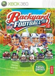 Box cover for Backyard Football '10 on the Microsoft Xbox 360.