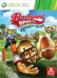 Box cover for Backyard Sports: Rookie Rush on the Microsoft Xbox 360.