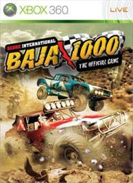 Box cover for Baja 1000 on the Microsoft Xbox 360.