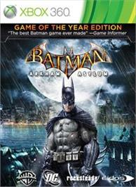 Box cover for Batman: AA GOTY on the Microsoft Xbox 360.