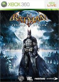 Box cover for Batman: Arkham Asylum on the Microsoft Xbox 360.
