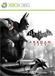 Box cover for Batman: Arkham City on the Microsoft Xbox 360.