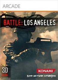 Box cover for Battle: Los Angeles on the Microsoft Xbox 360.
