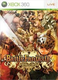 Box cover for Battle Fantasia on the Microsoft Xbox 360.