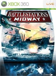 Box cover for Battlestations: Midway on the Microsoft Xbox 360.