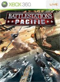 Box cover for Battlestations Pacific on the Microsoft Xbox 360.