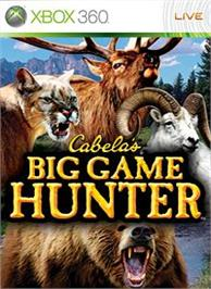 Box cover for Big Game Hunter on the Microsoft Xbox 360.