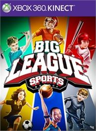 Box cover for Big League Sports on the Microsoft Xbox 360.