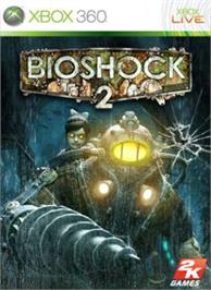 Box cover for BioShock 2 on the Microsoft Xbox 360.