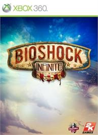Box cover for BioShock Infinite on the Microsoft Xbox 360.