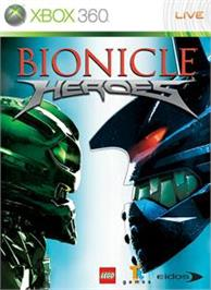 Box cover for Bionicle Heroes on the Microsoft Xbox 360.