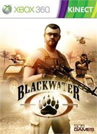 Box cover for Blackwater Kinect on the Microsoft Xbox 360.