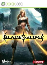 Box cover for Blades of Time on the Microsoft Xbox 360.