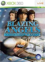 Box cover for Blazing Angels on the Microsoft Xbox 360.