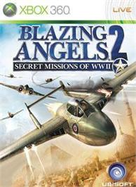 Box cover for Blazing Angels 2 on the Microsoft Xbox 360.