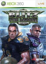 Box cover for Blitz: The League on the Microsoft Xbox 360.