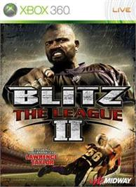 Box cover for Blitz: The League II on the Microsoft Xbox 360.