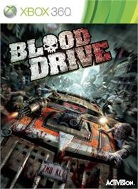 Box cover for Blood Drive on the Microsoft Xbox 360.