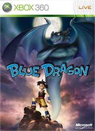 Box cover for Blue Dragon on the Microsoft Xbox 360.