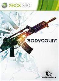 Box cover for Bodycount on the Microsoft Xbox 360.