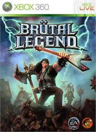 Box cover for Brütal Legend on the Microsoft Xbox 360.