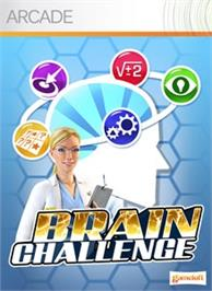 Box cover for Brain Challenge on the Microsoft Xbox 360.