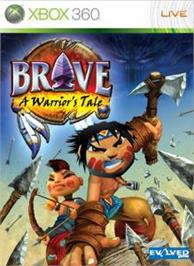 Box cover for Brave- Warrior's Tale on the Microsoft Xbox 360.