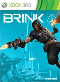 Box cover for Brink on the Microsoft Xbox 360.