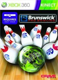 Box cover for Brunswick Pro Bowling on the Microsoft Xbox 360.