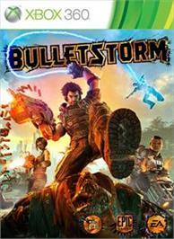 Box cover for Bulletstorm on the Microsoft Xbox 360.