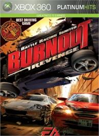 Box cover for Burnout Revenge on the Microsoft Xbox 360.