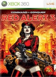 Box cover for C&C Red Alert 3 on the Microsoft Xbox 360.