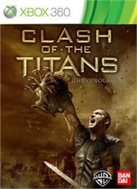 Box cover for CLASH OF THE TITANS on the Microsoft Xbox 360.