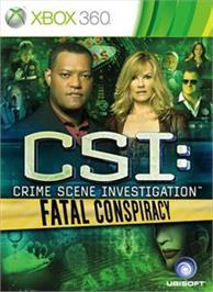 Box cover for CSI: Fatal Conspiracy on the Microsoft Xbox 360.