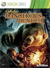 Box cover for Cabela's® DH 2011 on the Microsoft Xbox 360.