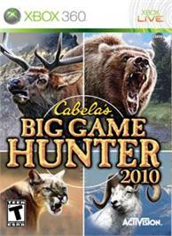 Box cover for Cabela's BGH 2010 on the Microsoft Xbox 360.