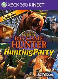 Box cover for Cabela's Hunting Party on the Microsoft Xbox 360.