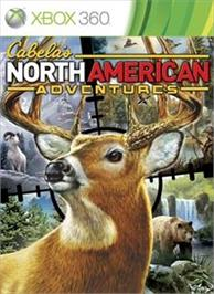 Box cover for Cabela's NAA on the Microsoft Xbox 360.