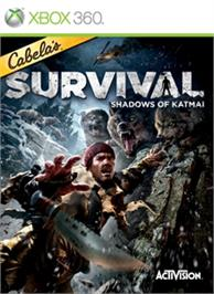 Box cover for Cabela's Survival: SoK on the Microsoft Xbox 360.
