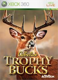 Box cover for Cabela's Trophy Bucks on the Microsoft Xbox 360.