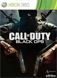 Box cover for Call of Duty®: Black Ops on the Microsoft Xbox 360.