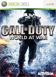 Box cover for Call of Duty®: WaW on the Microsoft Xbox 360.