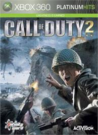 Box cover for Call of Duty® 2 on the Microsoft Xbox 360.