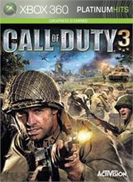 Box cover for Call of Duty® 3 on the Microsoft Xbox 360.
