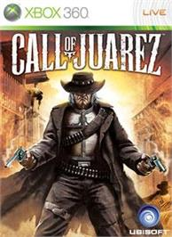 Box cover for Call of Juarez on the Microsoft Xbox 360.