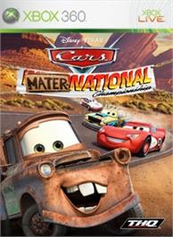Box cover for Cars: Mater-National on the Microsoft Xbox 360.
