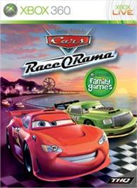 Box cover for Cars: Race-O-Rama on the Microsoft Xbox 360.