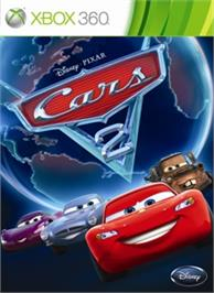 Box cover for Cars 2: The Video Game on the Microsoft Xbox 360.